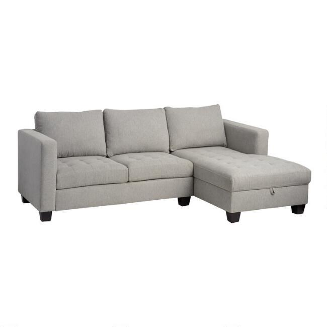 Axis 2 Piece Left Arm Chaise Sectional In Sectional Sofas