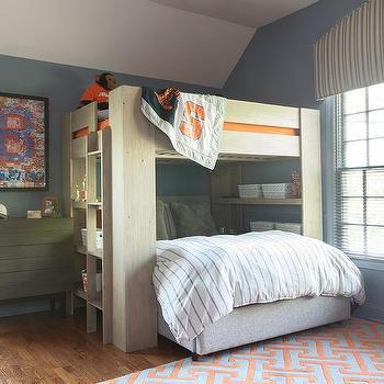 Football Themed Boys Room Design Ideas