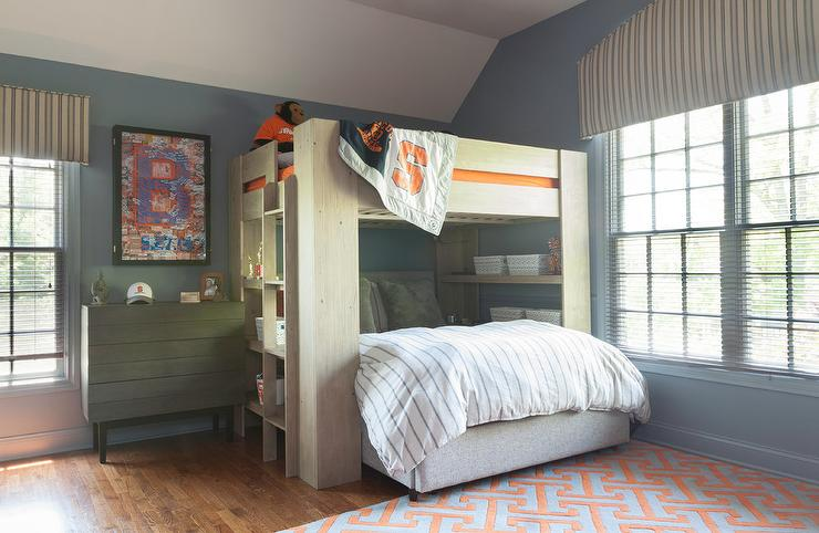 Chicago Bears Boys Bedroom Design Ideas