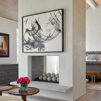 Double Sided Fireplace Design Ideas, 2 Sided Fireplace Ideas