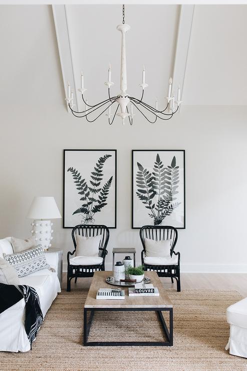 Botanical Living Room Prints Design Ideas