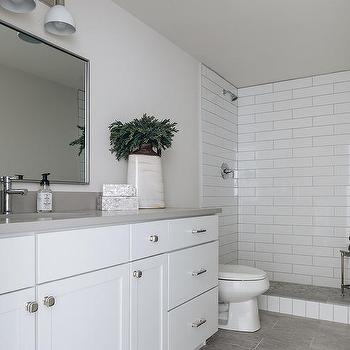 Gray Wood Like Tile Design Ideas, Grey Wood Tile Bathroom