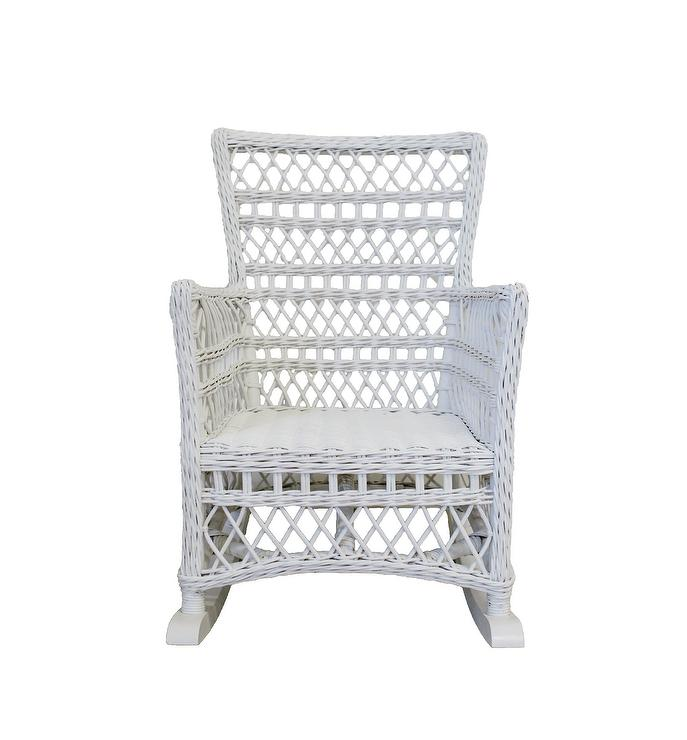 Amazing Neutral Rattan Curved Rocking Chair Lamtechconsult Wood Chair Design Ideas Lamtechconsultcom