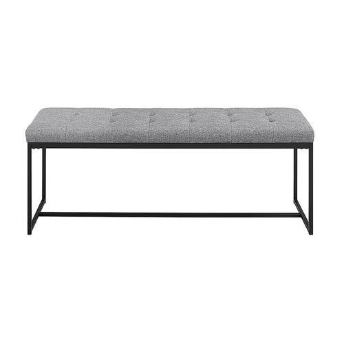 Lola Bench Pewter Z Gallerie
