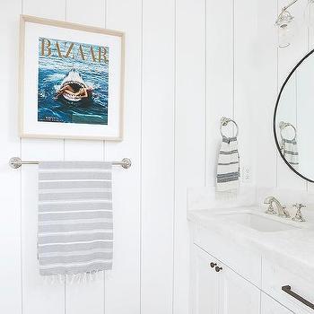 Vintage Bathroom Art Design Ideas