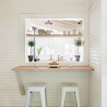 Living Room Pass Through Window Design Ideas