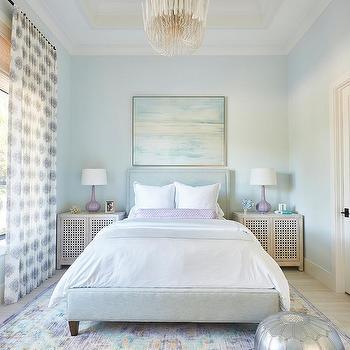 Light Blue Walls Design Ideas
