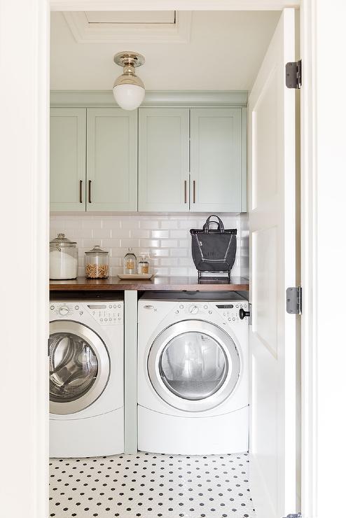 Countertop Over Washer Dryer Design Ideas