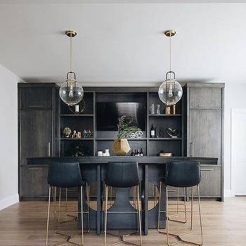 Basement Industrial Pub Table Design Ideas, Bar Table For Basement