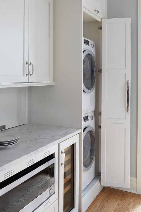 Stacked Washer And Dryer Design Ideas