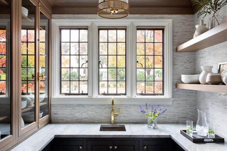 amazing marble countertop sink design and modern faucet.htm polished brass gooseneck pantry faucet with hammered metal square  polished brass gooseneck pantry faucet