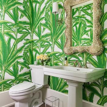 Palm Leaf Wallpaper Design Ideas