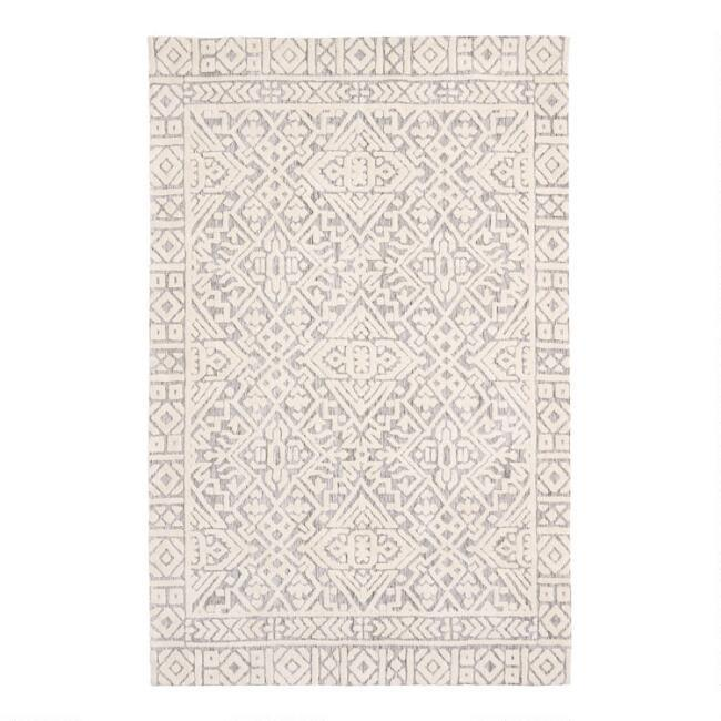 Polyester Juet Gray Rug - Products