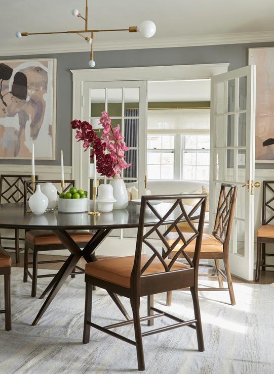 Venta Orange Kitchen Chair Cushions, Orange Dining Room Chair Cushions