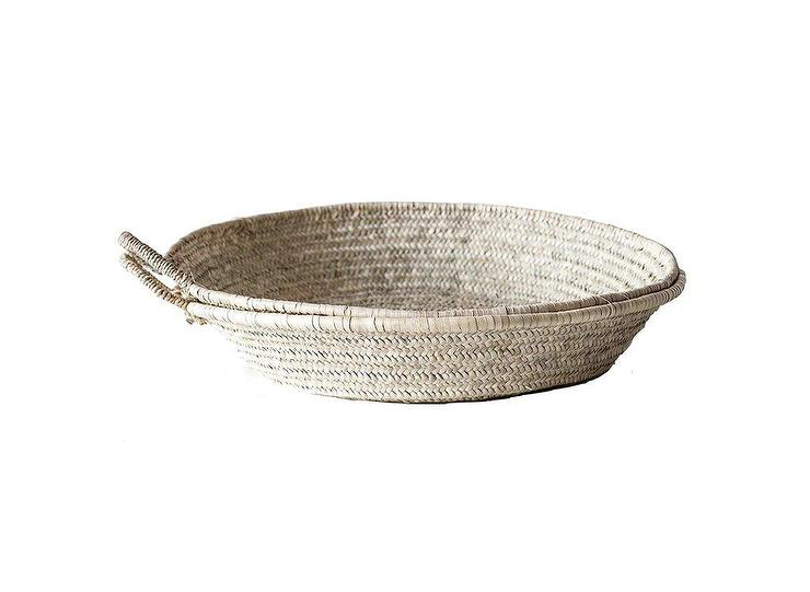 woven seagrass baskets with handles decorative storage boxes.htm moroccan round whitewash basket tray  moroccan round whitewash basket tray