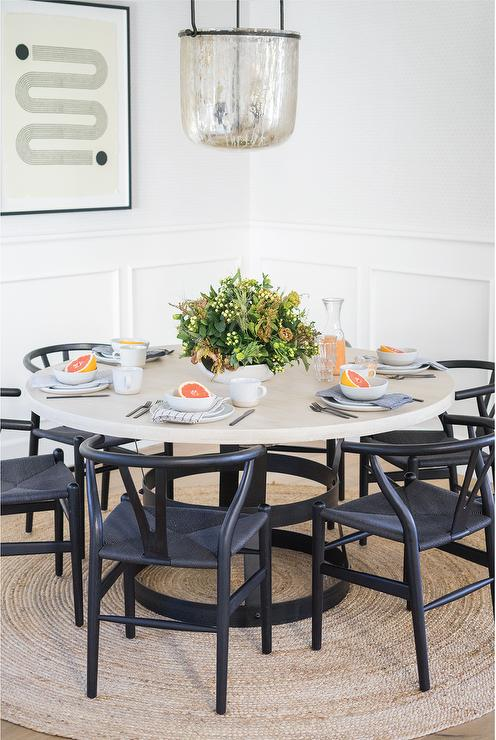 Black Wishbone Dining Chair Off 59, Black Wishbone Chairs Dining Room Set