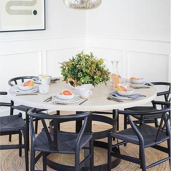 Black Wishbone Chairs Design Ideas, Black Wishbone Chairs Dining Room
