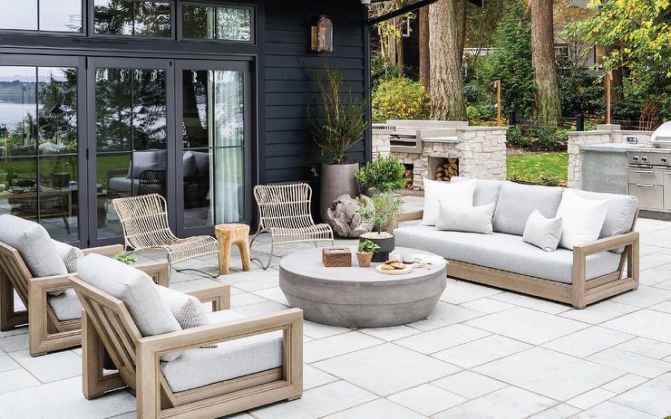 Seagrass Outdoor Furniture Design Ideas, Restoration Hardware Inspired Patio Furniture