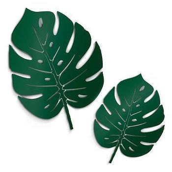 Palm Leaves Wood Framed Wall Art Banana leaves have long been a design staple — most notably gracing the walls of the iconic beverly hills hotel — but there is a newcomer sprouting up on pinterest boards, runways, and at decor stores this spring: palm leaves wood framed wall art
