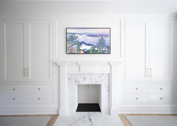 Fireplace Built In Cabinets Design Ideas, Built In Cabinets Around Fireplace