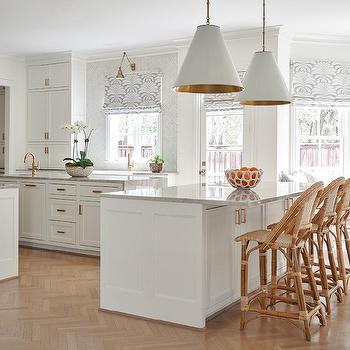 White And Gold Kitchen Design Design Ideas