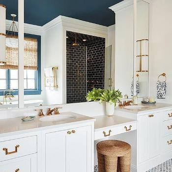 Ceiling Mounted Bathroom Mirrors Design Ideas