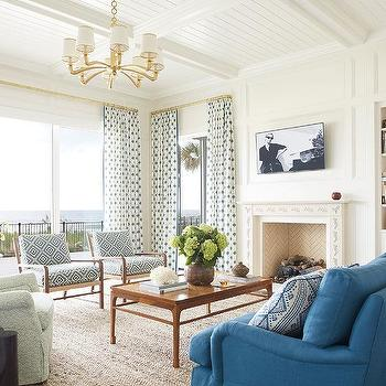 Accent Table Between Accent Chairs Design Ideas