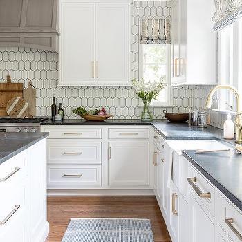 Kitchen Window Between Cabinets Design, Kitchen Cabinets Around Windows