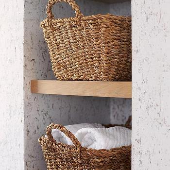 Wire Bathroom Towel Baskets Design Ideas, Towel Basket Bathroom