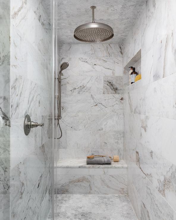 Tiled Shower Ceiling Design Ideas