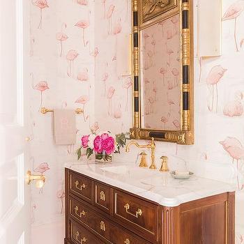 Antique French Bathroom Vanity Design Ideas