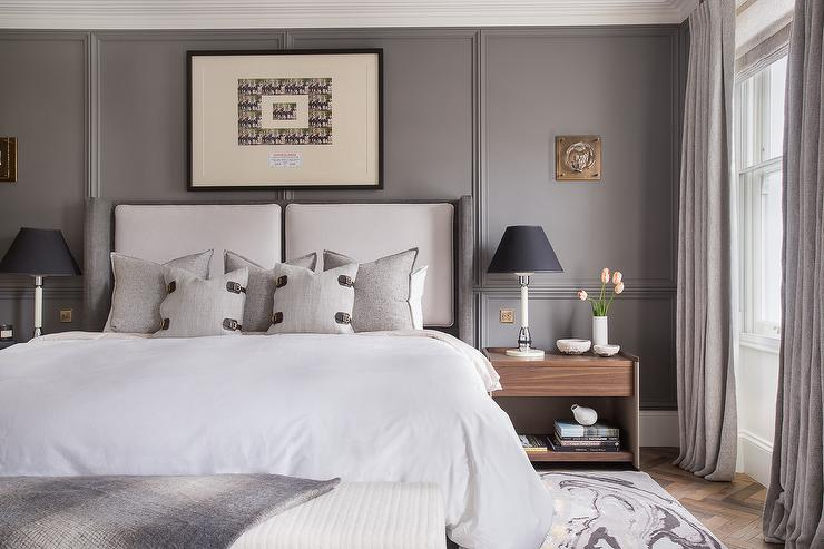Master Bedroom Wall Millwork Design Ideas