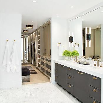Waterfall Edge Bathroom Vanity Design Ideas, Waterfall Bathroom Vanity