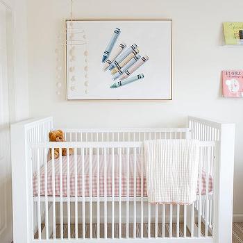 Pink Gingham Crib Bedding Design Ideas, Pink Gingham Baby Bedding